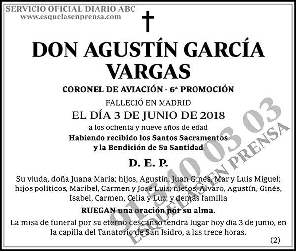 Agustín García Vargas